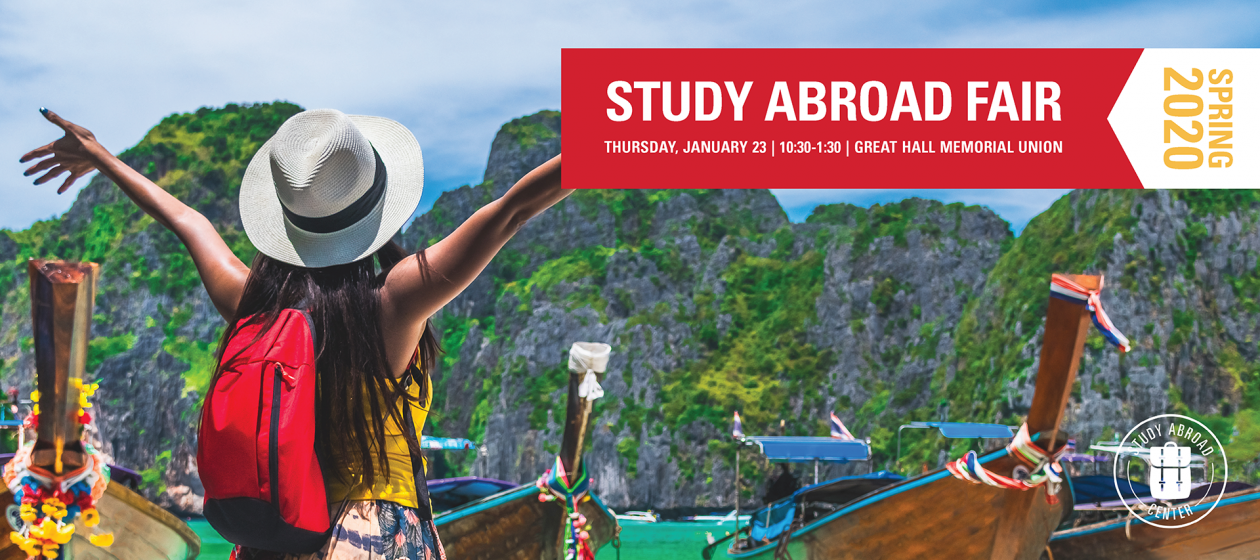Join us for the Study Abroad Fair!